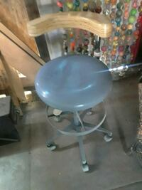 blue and gray rolling chair 1951 mi