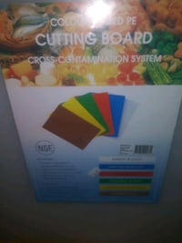 Commercial style cutting board
