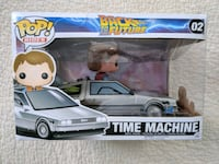 Back to the Future Time Machine Funko Pop Silver Spring, 20906