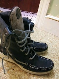 Sperry leather ladyfish ankle boots Providence