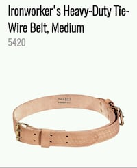 Klein Leather Tool Belt For Sale