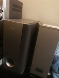 2 sony gray subwoofers Winnipeg, R3C 1L7