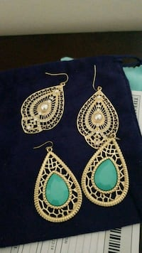 2 Pairs of Earrings New Westminster, V3M 5J6