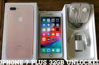 Iphone 7 Plus 32GB UNLOCKED (Like-New)  23 mi