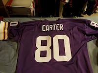 Cris Carter Purple Jersey Woodbine, 21797