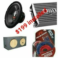 Boss combo special we carry many deal Houston, 77076