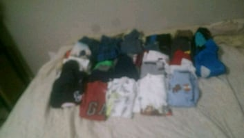 42 piece Boys 24 month to 4T clothing lot