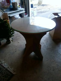 Table with glass top Crofton, 21114