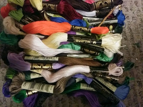 40 Embroidery Floss Thread