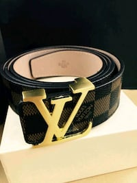 Louis Vuitton Brown Damier Belt Houston, 77074
