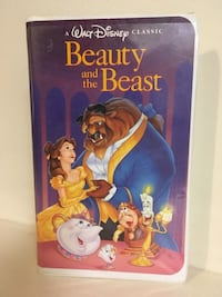 Disney Beauty and the Beast VHS