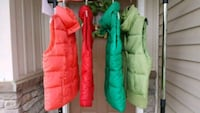 Puffy Vests. Sizes Small & Med.  Macungie, 18062