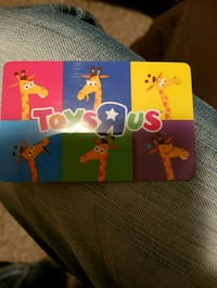 100$ Toys R us gift card  3157 km