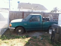 green single cab pickup truck Torrance, 90504