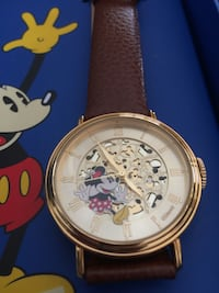 Mini mouse, Disney, mickey mouse, the golden years, collectable, Watch