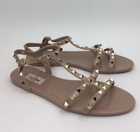 Valentino Rockstud Jelly Sandals Size 10