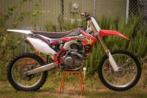 2016 honda crf450r clean nice bike