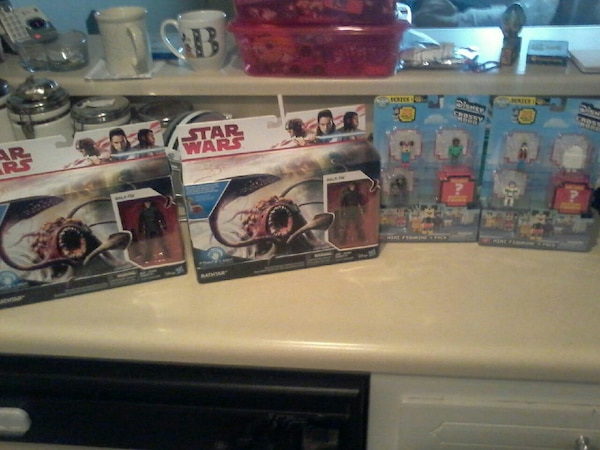 Star wars toys new