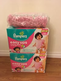3-4T Pampers easy ups/pull ups diapers - 169 pieces  Vancouver, V5V 3B4