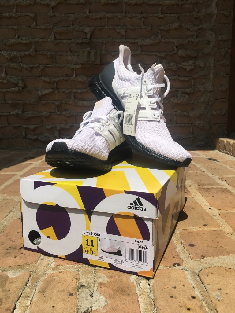 Adidas Ultraboost 4.0 Orchid Tint Cloud White Core Black Shoes Runner Shoes