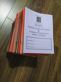 North America School new small exercise book Toronto