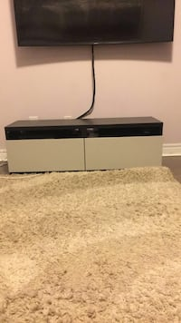 TV Stand (brown and white drawers) Toronto, M2K