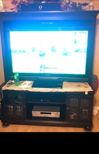 wooden tv stand Carson, 90745