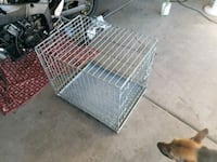 Dog Crate 27.5x20x23 + Dog Food and Puppy Pads
