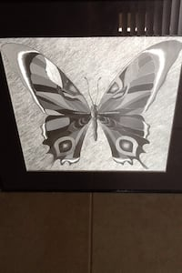 White butterfly themed wall decor Sunrise, 33351