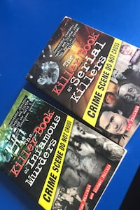 Serial Killer and other Murder books! Oxnard, 93035