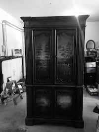Antiques roadshow Armoire/ Entertainment/Center .