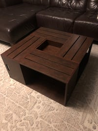 Like-New Wooden Coffee Table Los Angeles