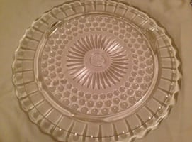 Antique Cake Plate