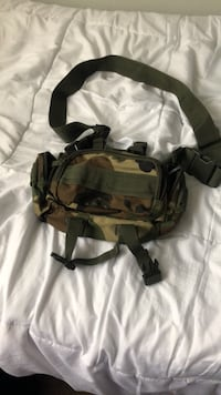 black and gray camouflage backpack Surrey, V3S 2E7