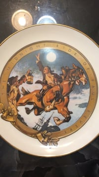 midnight ride of paul revere decorative plate Frederick, 21702