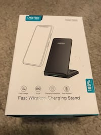 Fast wireless charging stand for iPhone and android