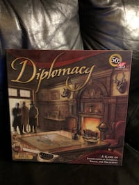Diplomacy, trivial pursuit and more Board Game. New!