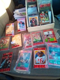 Joe Montana, Jerry Rice,  & Steve Young Football Cards - 230 Total  Bowie