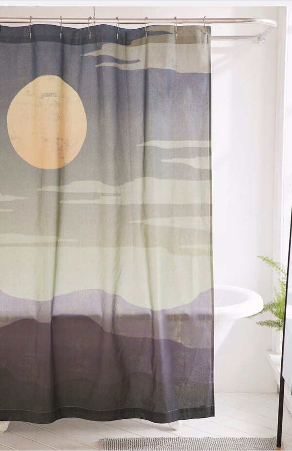 Used Urban Outfitters Shower Curtain Brand New For Sale In Toronto