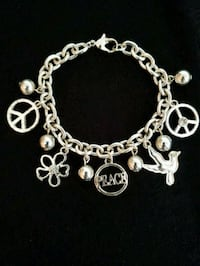 Charm Bracelet  - Peaceful Monona