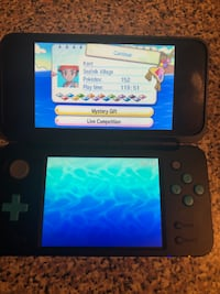 Nintendo 2DS Blue and Black w/Pokemon Ultra Moon (case included) Seat Pleasant, 20743