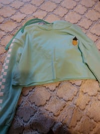 Cropped pineapple hoodie Lincoln, 68507