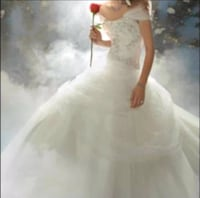 Alfredo Angelo Wedding Gown Disney Belle beauty and the beast Goffstown, 03102