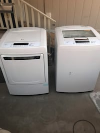 LG  HIGH CAPACITY HE WASHER AND DRYER Las Vegas, 89142