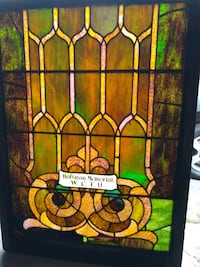 Antique stained glass window Redondo Beach, 90277