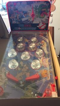 Original 1984© Ghostbuster Pinball Game In Mint Condition For It's Age $125/OBO