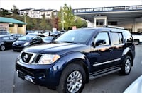 Team West Auto Group 2008 Nissan Pathfinder LE 7 passenger Local No accident One owner  3732 km