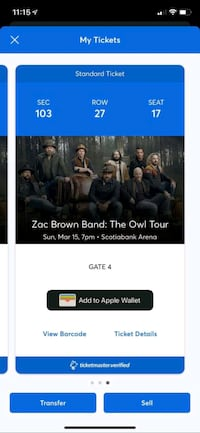 Zac Brown Band Toronto  Toronto, M4R 1Y8