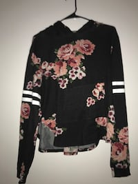 CROPPED FLORAL LONG SLEEVE