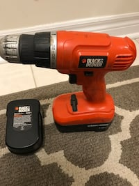 Cordless Drill plus variety of Tools